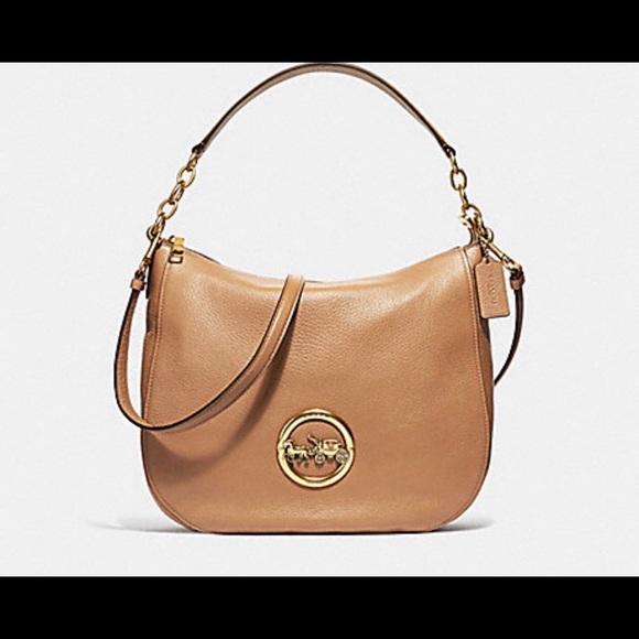 2296e7a8b7b8 NWT authentic Coach Elle hobo tote handbag